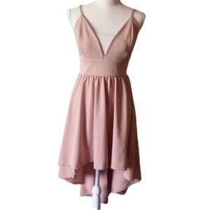 Lovely Day High Low Strap Dress Large